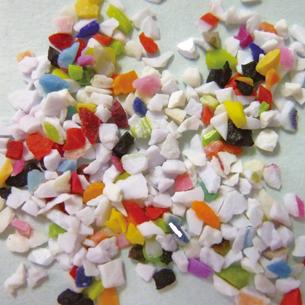 メラミン系プラスチックショット