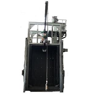 クレーン式ブラストマシン